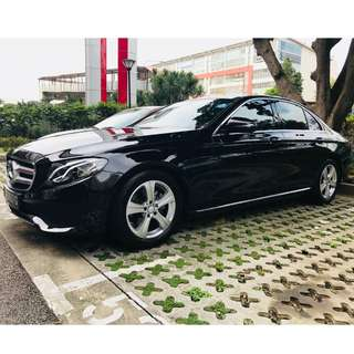 Mercedes Benz E220d 9G - Car Leasing for Limo Service