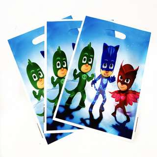 PJ MASKS Gift Bags (Pack of 10)