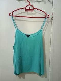 Turquoise Swing cami top