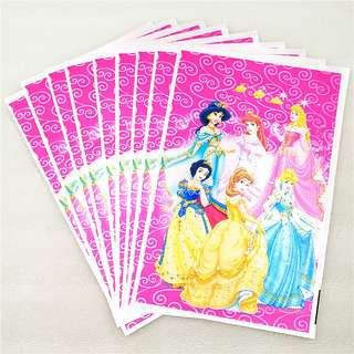 DISNEY PRINCESS Gift Bags (Pack of 10)