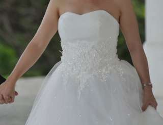 For Rent: Wedding Gown (Fits Med - Large)