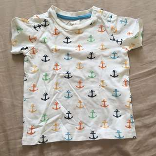 H&M shirt for baby boy