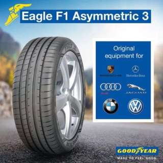 **Great Value!** Goodyear F1A3 - Made in Germany