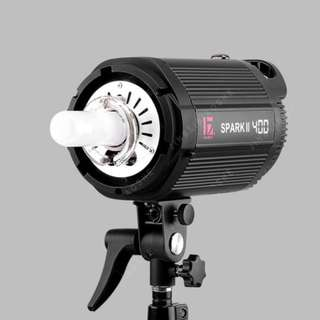 Jinbei Strobe Light / Flash Light SPARK II 400 W for home & professional photography studio