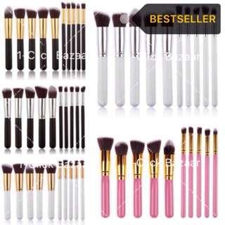 10 pcs. Make Up Kabuki Brushes