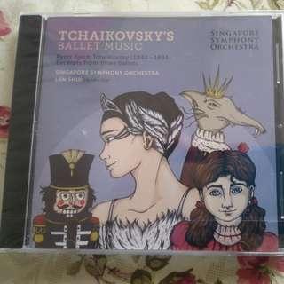 Tchaikovsky's ballet music (pyotr Ilyich Tchaikovsky 1840-1893) excerpts from 3 ballets