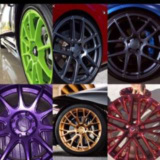 RIM SPRAY & CALIPER SPRAY SERVICE PROMO⚡️🚗💥