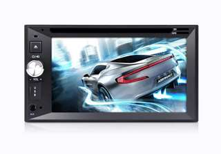 Universal 2 DIN Android Car DVD Player - 6.2 Inch, GPS, CAN BUS, Bluetooth, WIFI (CVAIY-C621)
