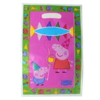 PEPPA PIG Gift Bags (Pack of 10)