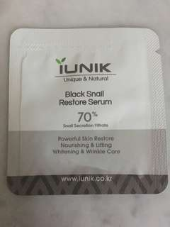 Iunik snail sample