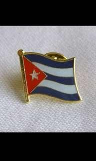 Cuba Flag Pins