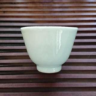 清末民初 白釉杯(茶杯)