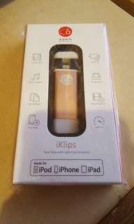 Iklips 16gb 手指  ipod ipad iphone