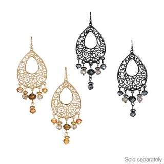 new in box! Avon nadia beaded earrings