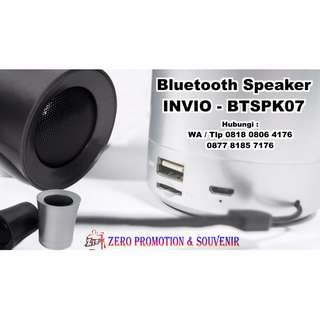 Souvenir Bluetooth Speaker unik & elegan BTSPK07