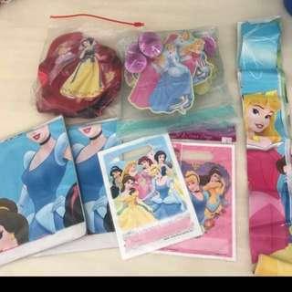 Disney Princess Decorations & new goodie bags
