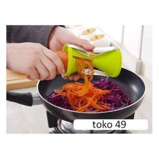 Vegetable Spiral Slicer alat pemotong buah sayur dekorasi hotel HPD060