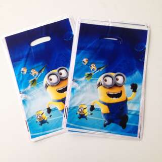 MINIONS Gift Bags (Pack of 10)