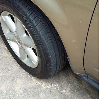 Two new Murano tyres