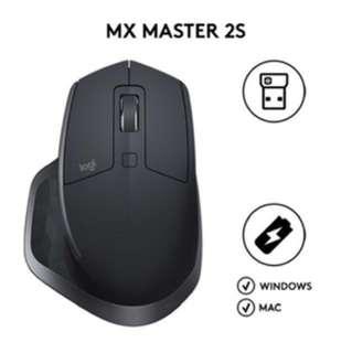 Logitech master mx 2s
