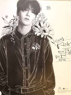 YESUNG : Spring Falling ~ Official poster