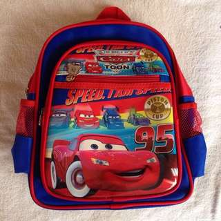Cars Back Pack