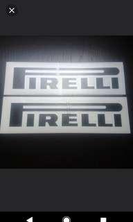 Pirelli Stickers