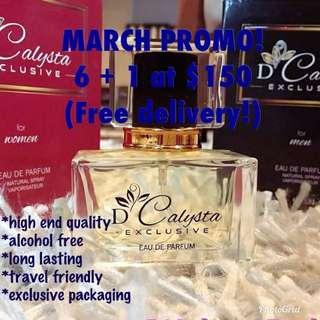 D'Calysta Perfume(non alcohol)