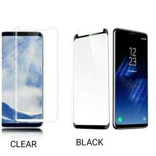 Samsung S9+ Plus Tempered Glass Curve Melengkung Warna Hp
