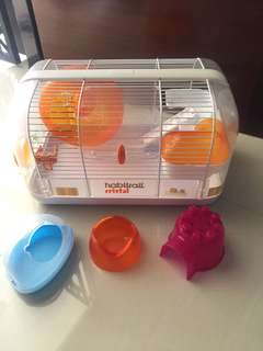 Used Habitrail Hamster Cage