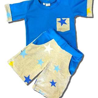 Boy set pocket