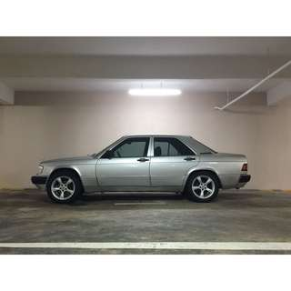 MERCEDES BENZ 190E 1.8AT