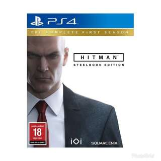 Hitman (Steelbook Edition) for PS4