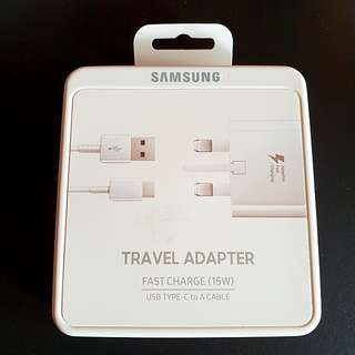 BNIB Samsung travel charger fast charge