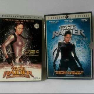 RAIDER,,古墓麗影,2集DVD|