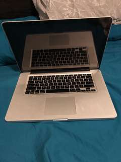 MacBook Pro 2009 Broken - Selling for Parts