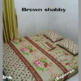 Sprei shaby Brown