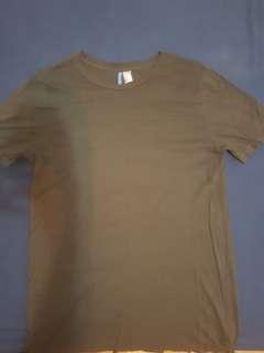 Olive Green H&M T shirt/ dress ;)