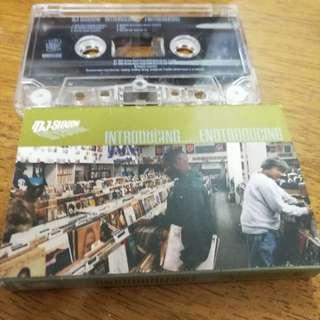 Dj Shadow - Entroducing, cassette promo sampler