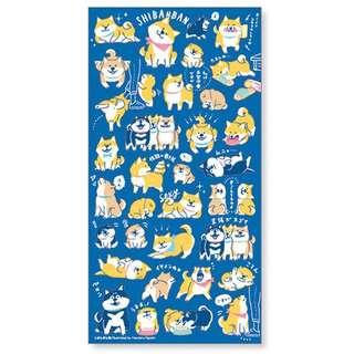 🇯🇵日本制🇯🇵  💞可愛🐶柴犬🐶貼紙💞