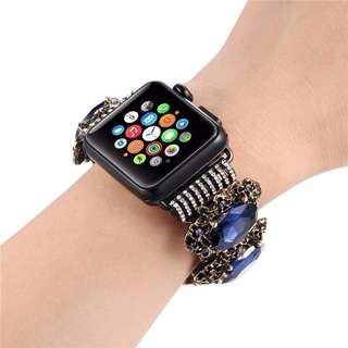 WOMEN'S AGATE STRETCH BRACELET FOR IWATCH
