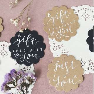 Handmade Gift Tags || Pack of 5