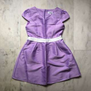Twenty3 Purple Skater Dress