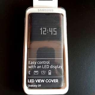 BNIB Samsung S9 Led view cover