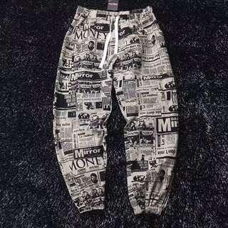 Nation Fashion Rolling Money Paper Pants