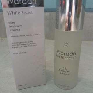 Preloved! Wardah White Secret Essence
