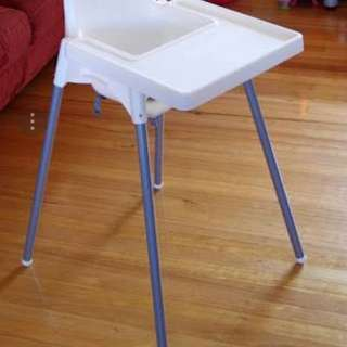 Ikea antilop high chair + insert