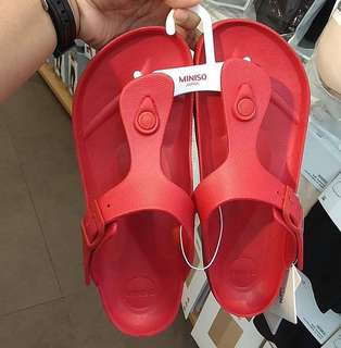 Miniso Sandals Red