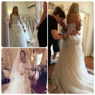 Pallas Couture Ezrella wedding dress