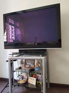 Pioneer 42 inch Plasma TV with console stand